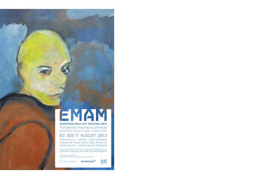 """Ausstellung """"EMAM – European male art meeeting 2013"""""""