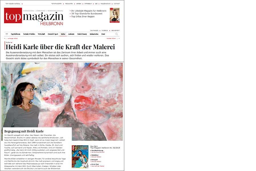 Heidi Karle über die Kraft der Malerei