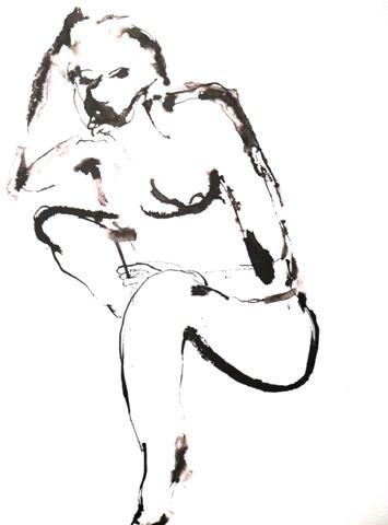 Tuschezeichnung von Heidi Karle