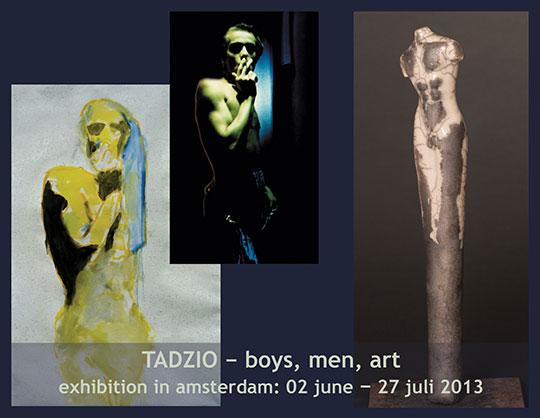 """Ausstellung """"TADZIO – boys, men, art"""""""
