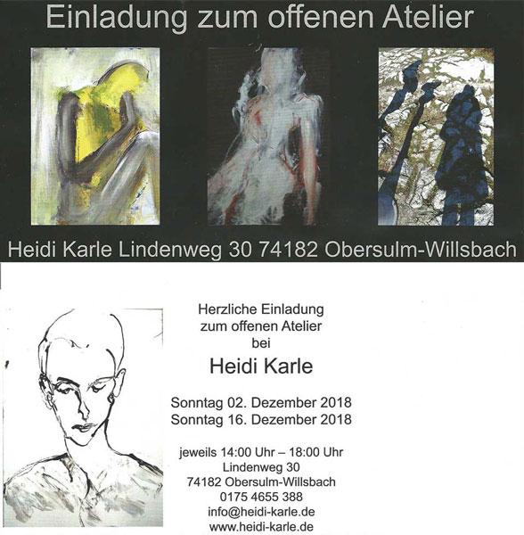Einladung zum offenen Atelier