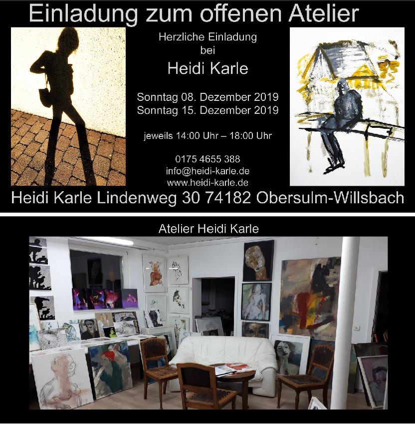 Einladung zum offenen Atelier 2019